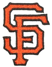 San Francisco Giants Baseball MLB Iron On Patch Embroidered Team Logo 2.25 BLK-O
