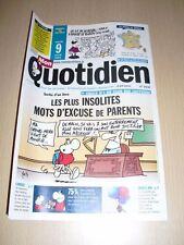 MON QUOTIDIEN n°4941 avril 2013