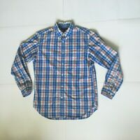 Banana Republic Mens Size M LS Soft-Wash Multi-color Plaid Button Down Shirt