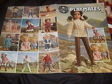VINTAGE Sirdar compagni di gioco bambole Lavoro a Maglia pttns LIBRETTO 11 INS Maschio/Moda Donna