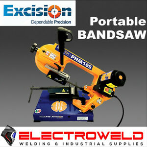 PORTABLE BANDSAW EXCISION 105, 850W METAL ANGLE CUTTING SAW BLADE - PHM 4105PHM