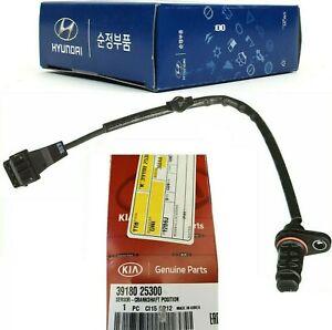 GENUINE Crankshaft Position Sensor Hyundai Kia 2.0L 2.4L Sonata Santa Fe  Optima