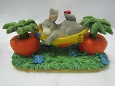 Fitz & Floyd Charming Tails Figurine (Mid Day Snooze) Mouse 89/.617