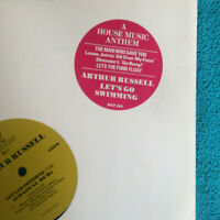 "Arthur Russell ‎– Let's Go Swimming   1986 UK Vinyl 12"" RTT 184  Mint   UNPLAYED"