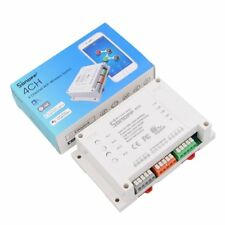 Sonoff 4CH Wireless Remote Smart Switch 4 Channel Din Rail Mounting Wi-Fi Switch