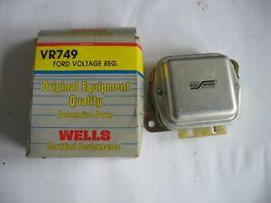 NORS WELLS VR749 Voltage Regulator FORD