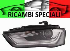 FARO FANALE PROIETTORE SX AUDI A4 02/2012-08/2015 XENON D3S LED MOT.EL. PAR.NERA