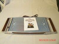 Vintage Mid Century Modern Salton Hotray Model H-121 Warming Tray
