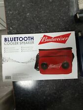 New listing Budweiser Soft Cooler With Bluetooth Speaker