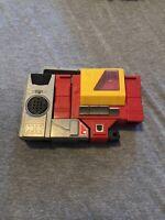 Vintage Transformers Autobot Blaster G1 Hasbro 1984 Boombox Hasbro Broken Handle