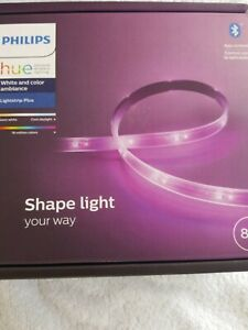 """Philips Hue White&Color Ambiance 80"""" Shape Lightstrip PLUS 555334 NEW NEVER USED"""