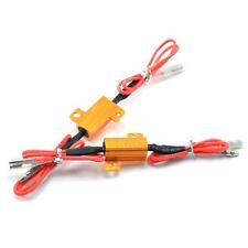 2Pcs LED Bulb Turn Signal Light Load Resistor Fix Fast Flash Blinker 25W 6.8ohm