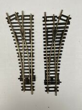 Peco ST-241 Nickel Silver Left & Hornby R8073 Right Hand Points