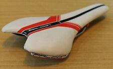PRO Falcon Titanium Rails Shimano Ti 132mm Wide White Red 216 grams Lightweight