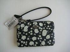 New Coach 64214 Cross Grain Leather Wristlet Small Electronics Carrier/ Wallet
