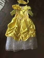 Belle Costume Size 4/5 Girls High Quality