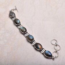 26 Gms Ab 72412 Labradorite Ethnic Handmade Bracelet Jewelry