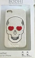 Bodhi Handbags Leather Skull Case for iPhone 4 NWT