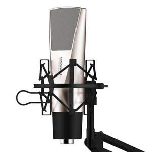 Professional Game Condenser Sound Recording Microphone with Holder for Live Show