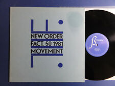 NEW ORDER  MOVEMENT Factory A5B5 UK LP nr MINT STUNNING