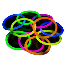 25 Glow Sticks UV Light Sticks Glow In The Dark Glowhouse Premium Bracelets