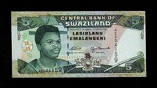 SWAZILAND   5  EMALANGENI ( 1995 ) PICK # 23 UNC.
