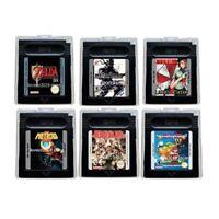 GBC Cartridge Console Zelda Link's Awakening Metal Gear Solid.. English language