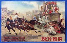 c 1910 Antique Ben-Hur Wallace Memorial Sears Roebuck Advertising Postcard