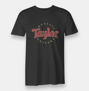 The Guitars Taylor T-Shirt Funny Birthday Cotton Tee Vintage Gift For Men Women