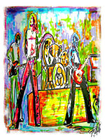 Led Zeppelin Stairway to Heaven Plant Page Music Print Poster Wall Art 8.5x11