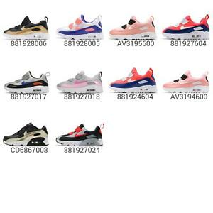 Nike Air Max Tiny 90 TD Toddler Infant / PS Kid Preschool Straps Shoes Pick 1