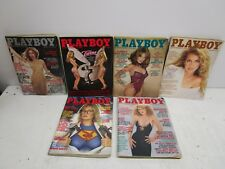 1981 Playboy Magazines 6 Issues