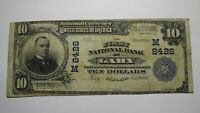 $10 1902 Gary Indiana IN National Currency Bank Note Bill! Ch. #8426 RARE!
