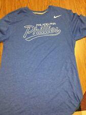 Nike Regular Fit Philadelphia Phillies Shirt Blue Large