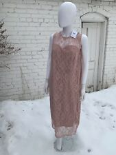 Blush Pink Mock Dress Mother Of The Bride Lace Plus 18W