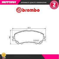 P56100 Kit pastiglie freno a disco ant Nissan-Renault (MARCA-BREMBO)