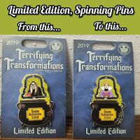 Disney LE Terrifying Transformations Pin Halloween Evil Queen Snow White Villain