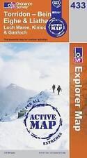 Torridon - Beinn Eighe and Liathach - OS Explorer ACTIVE Map 433 (NEW 2007)