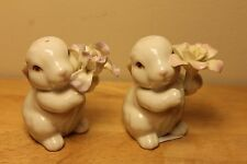 Lenox Bunny Salt & Pepper Shakers Nib for Easter