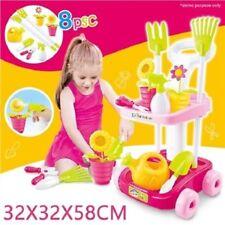 Kids Pretend Play Garden Tool Set - Little Trolley Toys