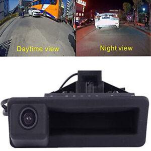 Car Trunk Handle Reverse Camera For BMW E90 E91 E92 E93 E53 E82 E88 X1 X5 X6