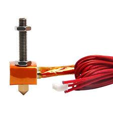 Reprap 3D Drucker Ersatzteile 12V 40W Hotend Kit für MK8 Extruder 0,4mm Düse