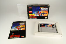 Super Nintendo * Super Star Wars: the Empire Strikes Back * SNES OVP cib + schutzh
