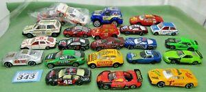 RALLY diecast toy CORGI car Vintage BURAGO nascar racing sports bundle JOB LOT