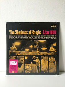 "The Shadows of Knight ""Live 1966"" US LP Mono (Sundazed) Sealed"