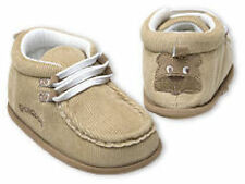 FREE POST! GOLDBUG BABY BOYS SHOES PRE-WALKERS BOOTS TAUPE BEAR BROWN 9-12 MOS