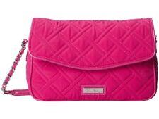 Womens Vera Bradley Chain Shoulder Bag Purse Fuchsia Pink Bag Handbag Retired