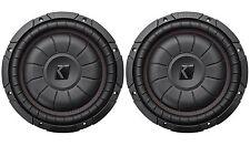 """2) Kicker 43CVT122 COMPVT 12"""" 1600 Watt Shallow Slim Car Subwoofers Subs CVT12-2"""
