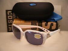 5599ac4052 Costa Del Mar Gannet GNT 121 Matte Seashell Sunglasses Gray 580p