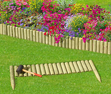 Rasenkante Holz 100 cm Beeteinfassung Beetbegrenzung Beetzaun Beetumrandung